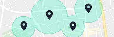 L'emplacement de vos bureaux